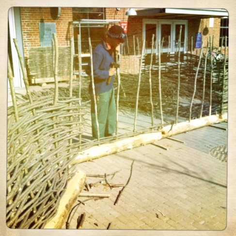 finding a way to make a fence from theland