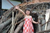 12' x 6' x 12' wood, vines, invasive plants 2008 (Evergreen Brick Works, Toronto)