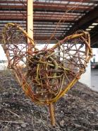 "9"" x 10"" x 2"" willow, 2013 (Evergreen Brick Works, Toronto)"