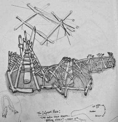 http://www.foolishnature.org/homely/environmental/shelter/chipmunk%20maze/chipmunk%20maze/index.html 2012-chipmunk maze documentation drawing (from life)
