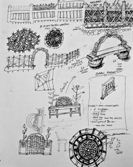2013-gateways, arches, arbors, bench design