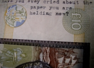 have you ever cried about the paper you are holding now?