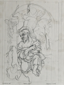 "1457-1504. 17""-12"". pencil on paper."